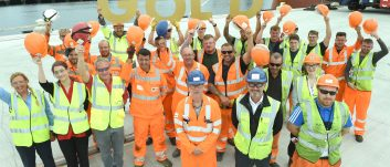 Gold award for PD Ports' health and safety standards at prestigious RoSPA awards