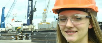 Logistics Academy student Emily starts career with PD Ports