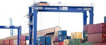 PD Ports' further expansion of container terminal capacity with £10m investment
