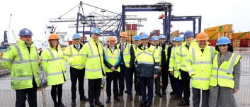£6M crane at Teesport officially opens