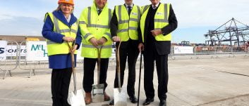£35M investment sees major redevelopment milestone reached at Teesport