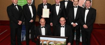 New Teesport container terminal facility wins civil engineering award
