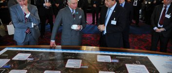 HRH The Prince of Wales visits PD Ports in Middlesbrough