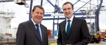 Northern Powerhouse Minister visits Teesport to discuss growth and investment