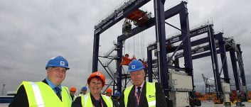 Finnish Ambassador for the UK visits Teesport