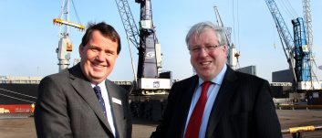 Ministerial Visit to North East Logistics Hubs