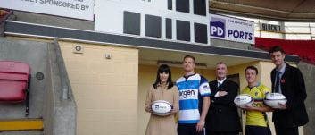 PD Ports renews two year sponsorship with Darlington Mowden Park RFC