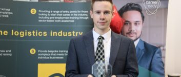 PD Ports catch up with Career Ready Logistics Student of the Year, Chris Allon