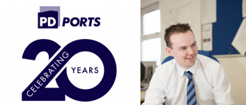 PD Ports celebrating 20 years of supporting young people: Martin Walker